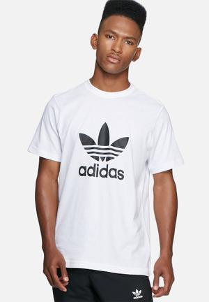 Adidas Originals Trefoil Tee T-Shirts White
