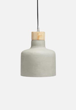 Sixth Floor NY Concrete Pendant Lighting Concrete