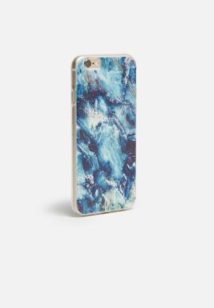 Hey Casey Indigo Agate - IPhone & Samsung Cover Blue / White