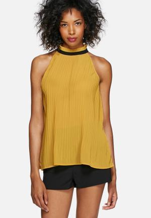 Vero Moda Lima Top Blouses Yellow