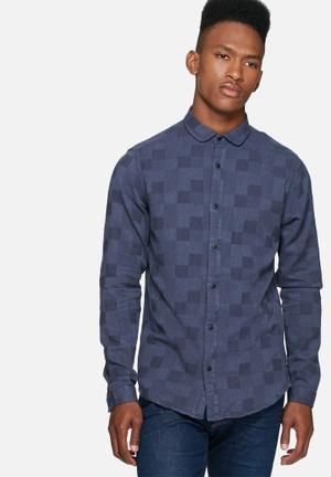 Only & Sons Sailor Slim Shirt Blue