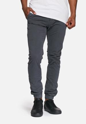 Only & Sons Tarp Tapered Cuffed Chinos Blue