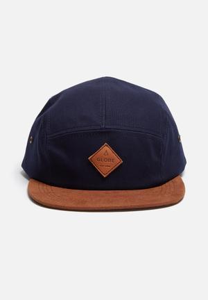 Globe Wallace Headwear Navy & Brown