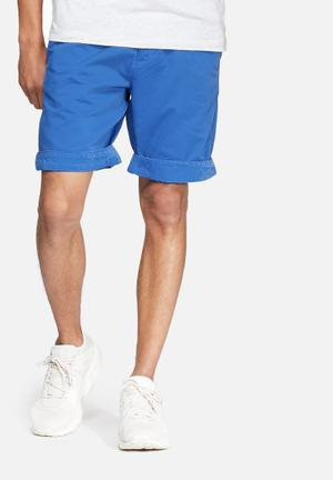 Superdry. International Chino Short Blue