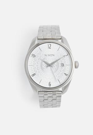 Nixon Bullet Watches Silver