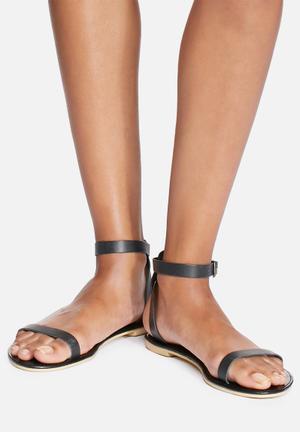 Dailyfriday Yolanda Leather Sandal Black