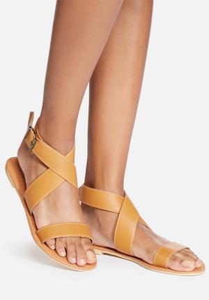Dailyfriday Dani Leather Sandal Tan