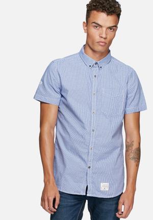 Superdry. Pantechnican Shirt Blue