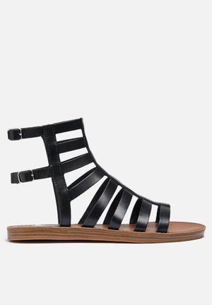 Steve Madden Beeast Sandals & Flip Flops Black
