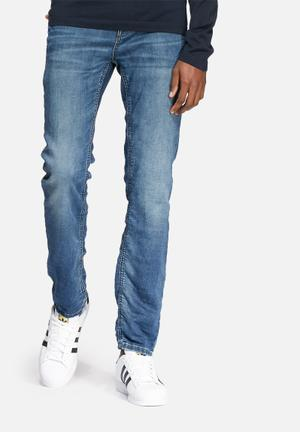 Selected Homme Mario Slim Jeans Blue