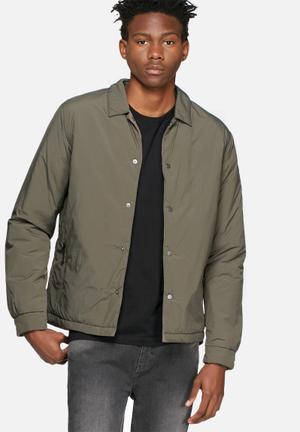 Selected Homme Feel Shirt Jacket  Grey