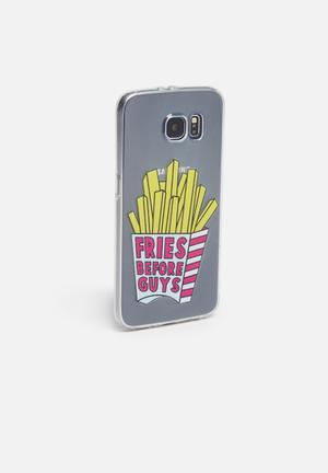 Hey Casey Fries Before Guys IPhone & Samsung Cover Clear With Fires