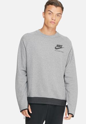 Nike International Sweatshirt Grey & Black