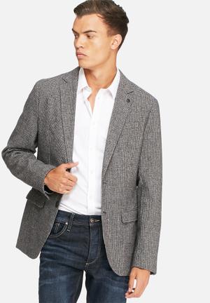 Selected Homme Anton Blazer Jackets & Coats Grey