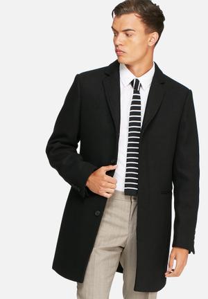 Selected Homme Casper Coat  Black
