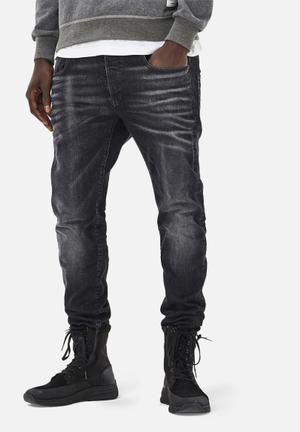 G-Star RAW 3301 Slim Jeans Black