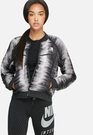 Nike International Jacket Black & Grey
