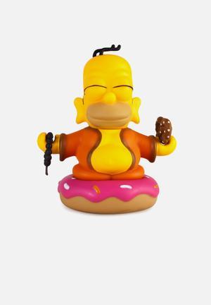 Kidrobot The Simpsons: Homer Buddha Figure Toys & LEGO Vinyl