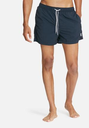 Jack & Jones Jeans Intelligence Flow Swim Shorts Swimwear Navy