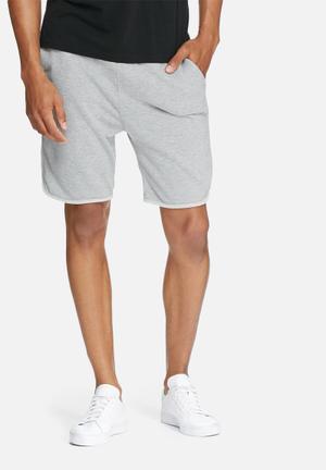 Basicthread Boxer Sweat Shorts Grey