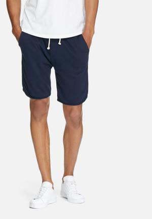 Basicthread Boxer Sweat Shorts Navy