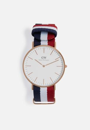 Daniel Wellington Cambridge Watches Silver