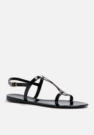 Call It Spring Rinda Sandals & Flip Flops Black