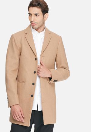 Selected Homme Casper Coat Camel