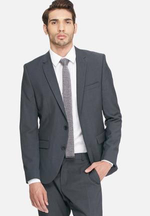 Selected Homme Don Slim Blazer Jackets & Coats Grey