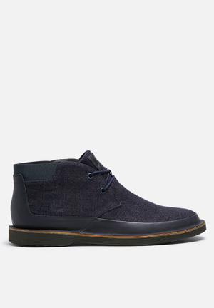 Camper Morrys Boots Navy & Black