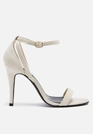 ONLY Artsy Heeled Sandal Pale Nude