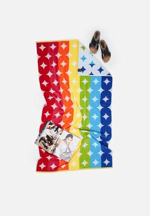 Nortex Diamonds Beach Towel Pool & Fun 440GSM 100% Cotton