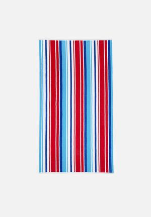 Nortex Olympic Beach Towel Pool & Fun  440gsm 100% Cotton