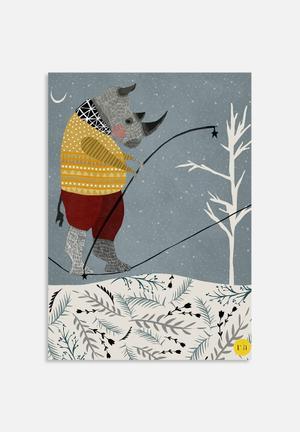 Amalia Restrepo Rhino Art