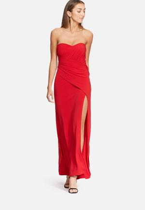 Dailyfriday Boobtube Maxi Dress Occasion Red