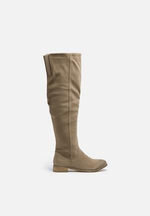 Therapy Walker Boots Taupe
