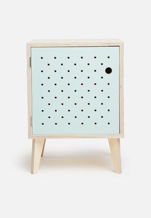 Sixth Floor Cosmo Birch Pedestal Desks & Tables Birch Ply Wood