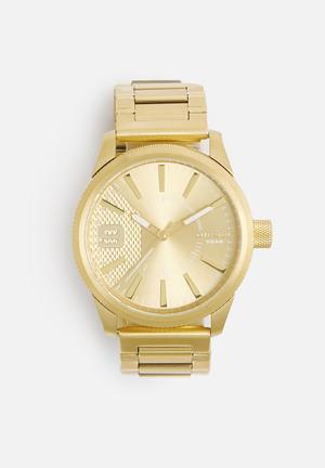 Diesel  Rasp Watches Gold