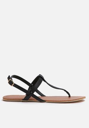 Billini Harlow Sandals & Flip Flops Black