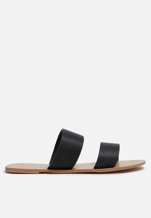 Billini Cuban Sandals & Flip Flops Black