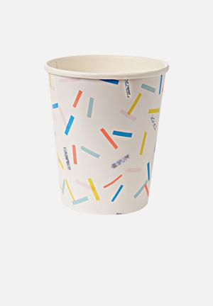Meri Meri Sprinkles Party Cups Partyware Paper
