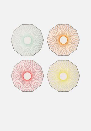 Meri Meri Spiral Plates Partyware Paper