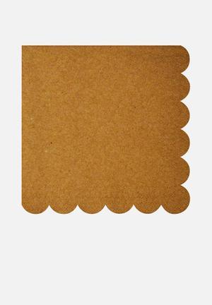 Meri Meri Kraft Napkins Partyware Paper