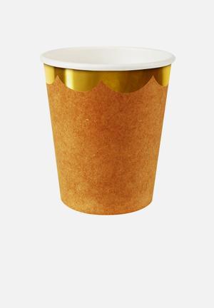 Meri Meri Kraft Party Cups Partyware Paper
