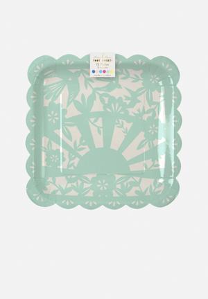 Meri Meri Fiesta Plates Partyware Paper