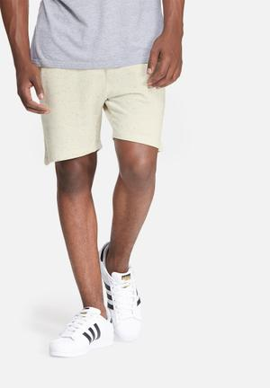 Only & Sons Peter Sweat Short Cream & Grey