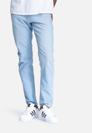 Basicthread Slim Fit Denims Jeans Light Blue