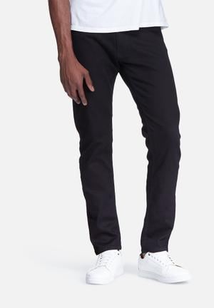 Basicthread Slim Fit Denims Jeans Black