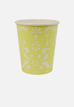 Meri Meri Fiesta Party Cups Partyware Paper