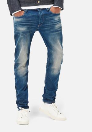 G-Star RAW 3301 Slim Jeans Medium Wash